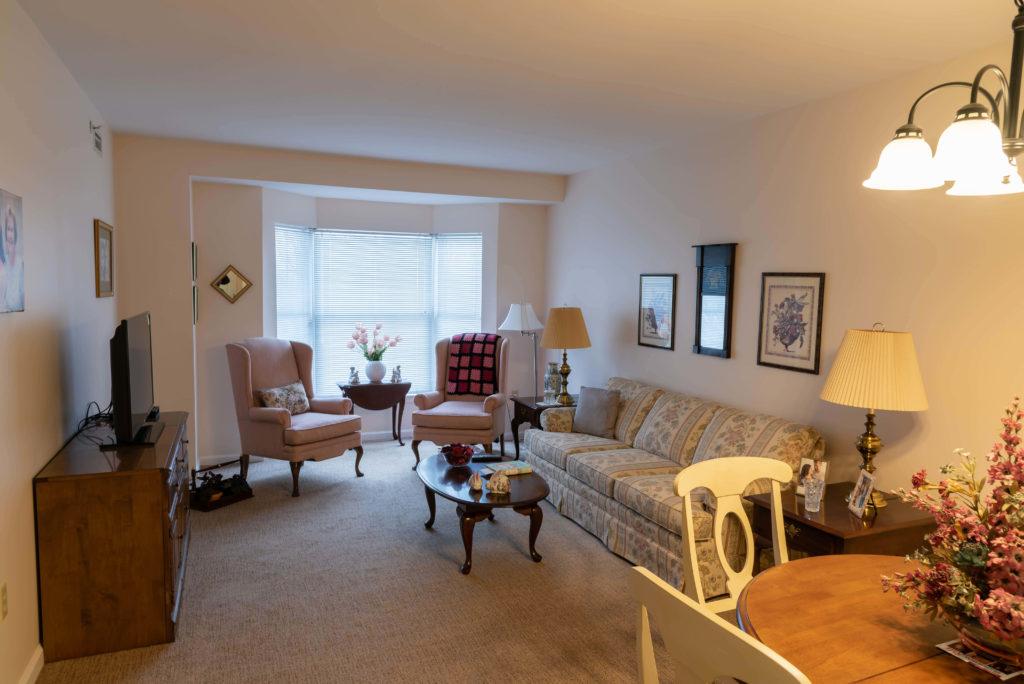 retirement living apartment deluxe