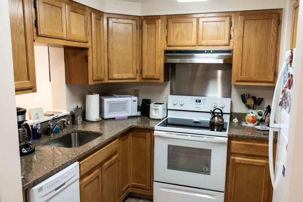 Retirement living two bedroom apartment