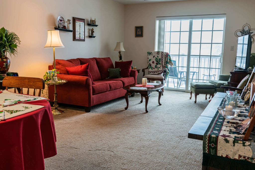 Independent living two bedroom apartment